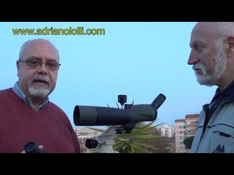 Test cannocchiale spotting scope Sky-Watcher Acuter 80A (45°) ZOOM 20-60X