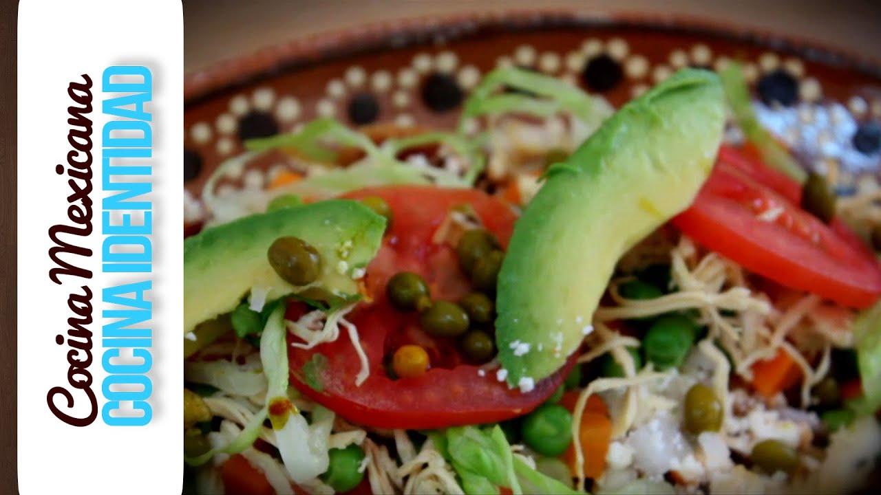 Receta de Enchiladas Tultecas,Yuri de Gortari
