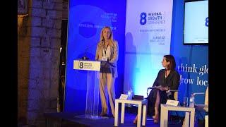 Ομιλία ΥφΑΑΤ, Φωτεινής Αραμπατζή στο 8ο Συνέδριο Περιφερειακής Ανάπτυξης (Αχαΐα 04.07.2020)
