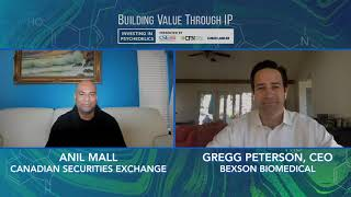 Introducing Gregg Peterson and Bexson Biomedical