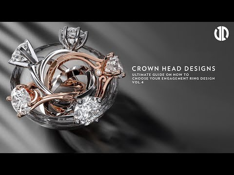 How to Choose your Engagement Ring Design Styles (Part 4 - Crown Head Engagement Ring Settings)