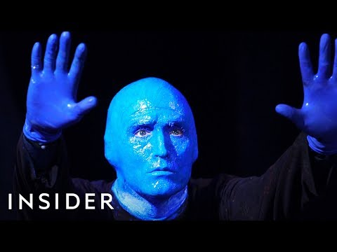 How to Become a Blue Man