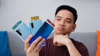 Huawei P30 Pro Vs P30 Vs Lite. Mana Yang Lebih Worth It?