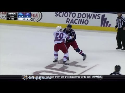 Jack Skille vs. Chris Kreider