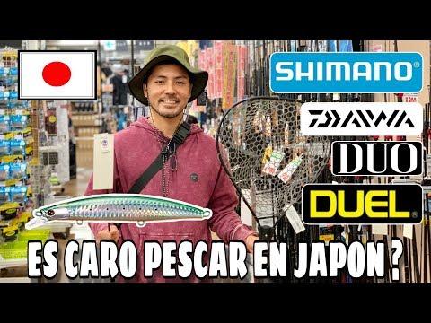 TOUR COMPLETO por una  TIENDA DE PESCA EN JAPON , SHIMANO , DUO , DAIWA , DUEL ! SEÑUELOS , WADERS !