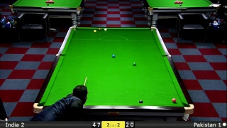 Snooker World Team Cup Final : India 2 vs Pakistan 1