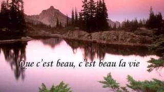 C est beau la vie par Jean Ferrat sur terredisrael.com