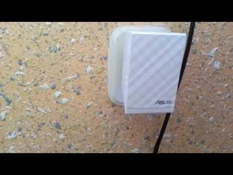 Wzmacniacz sygnału WiFi Asus RP-N14   konfiguracja.