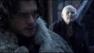 jon snow talking to aegon targaryen