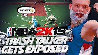 TRASH TALKING BALDHEAD GETS DESTROYED | WHY NO ONE SHOULD VS  ME 1V1 ON NBA 2K19...