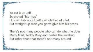 DJ Jazzy Jeff  the Fresh Prince - Jeff Waz on the Beat Box Lyrics