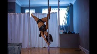 Pole Dancing Performance at Work It Student Showcase 2017