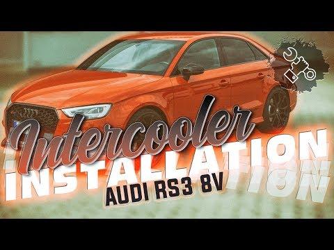 Wagner Tuning - Audi RS3 8V Intercooler Installation