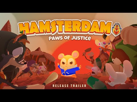 Hamsterdam - Paws of Justice Release Trailer | Muse Games thumbnail