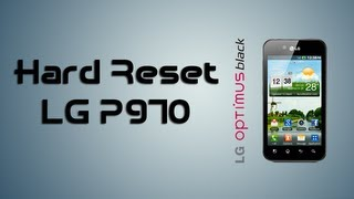Hard Reset LG Optimus Black P970