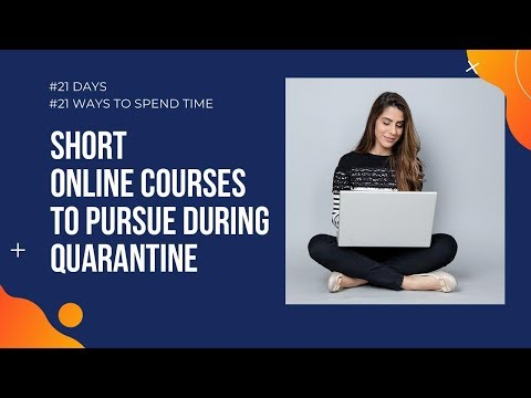 Short online courses you can pursue during lockdown - YouTube