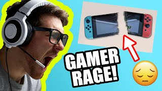 Funniest Gamer RAGE QUIT Compilation! #10
