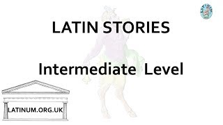 18  Latin Audiobook with Text  read aloud for Intermediate Students