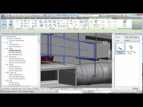 Revit 2017 – Fabrication Hanger