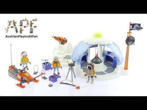Vidéo PLAYMOBIL Action 9055 : Quartier général des explorateurs polaires