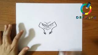 🔴How To Draw Japanese Dragon | كيفية رسم التنين الياباني