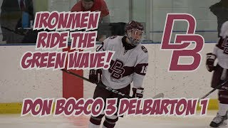 Don Bosco 3 Delbarton 1 | Ice Hockey Highlights | Connor Sedlak 2 Goals!