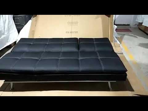 Hennessey Black Sofa