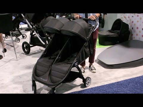 Baby Jogger City Tour 2 Double Stroller Demo & Review | First Look at ABC Kids Expo 2018