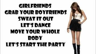 Let's Dance - Miley Cyrus - Lyric Video