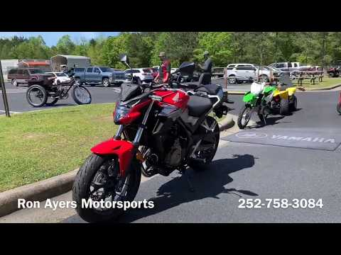 2019 Honda CB500F ABS in Greenville, North Carolina - Video 1