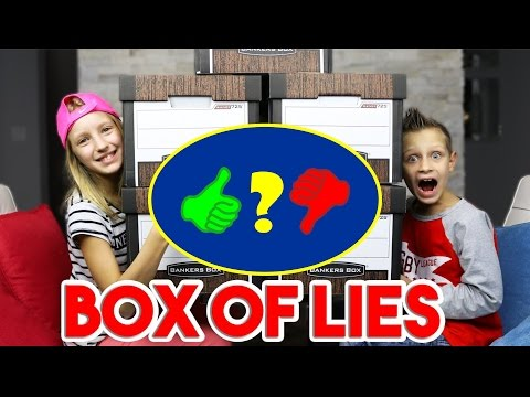 BOX of LIES Challange Video Review - 27 03 2017