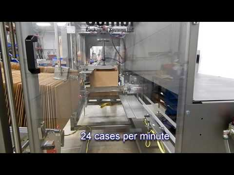 Formadora de Cajas de alta velocidad con auto cierre automático de sus solapas inferiores 2-EZHS
