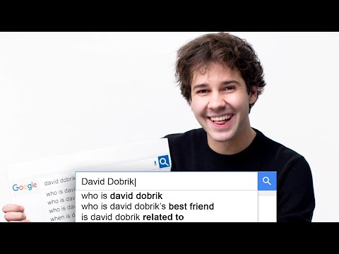 David Dobrik Answers the Web's Most Searched Questions | WIRED (видео)