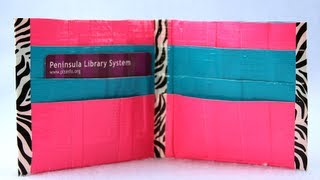 How To Make A Duct Tape Wallet With Extra Pockets | Sophies World