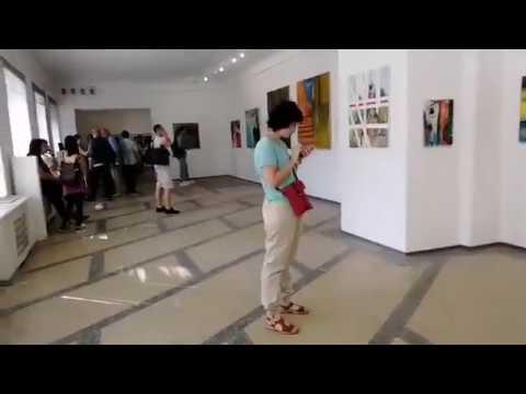 Художники Литви в Галереї Мистецтв ВОНСХУ. 2018. © Dima Krakhmaliuk - YouTube