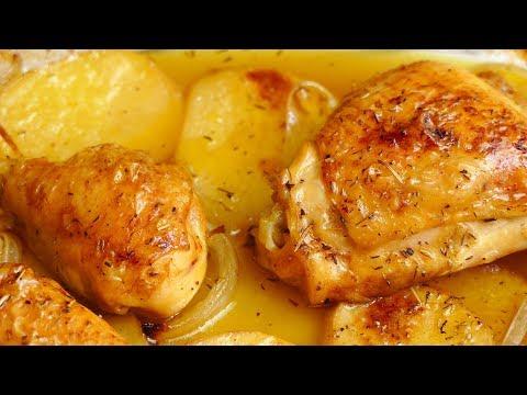 pollo al horno con cerveza ¡RECETA TOP!
