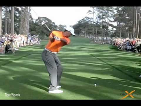Tiger Woods – Augusta National Golf Club – The Masters practice round