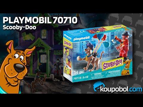 Vidéo PLAYMOBIL Scooby-Doo! 70710 : Scooby-Doo avec fantôme du clown