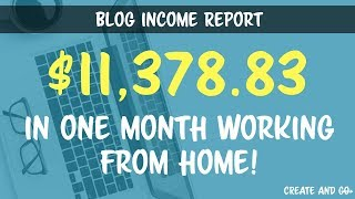 Blog Income Report December 2016, $11,378.83 Blogging