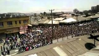 #3 Ethio Muslims Continue Their Strong Demonstration At Anwar Mosque On Fri March-1-2013