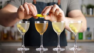 The Ultimate MARTINI Guide - Classic, Perfect, Dirty Or Dry?