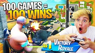I Dropped Paradise Palms 100 Times & You Won't Believe What Happened.. (Fortnite Season 5 Challenge)