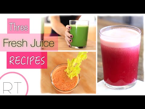 Video 3 Juicing Recipes I LOVE
