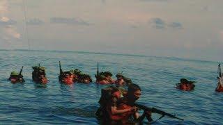 """Cả đội binh TQ đồn trú gần đảo VN bỗng dưng """"bốc hơi"""" (416)"""