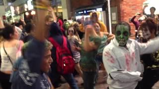 No Dance No Life Zombie Dance at Shibuya, 20 October 2012