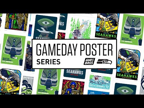 Seahawks Launch New Gameday Poster Series By Ames Bros Page 2 Pearl Jam Community