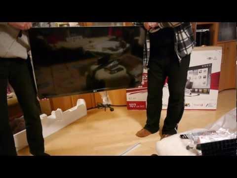 LG 42LM760S 42 Zoll Smart TV im Unboxing [DE]