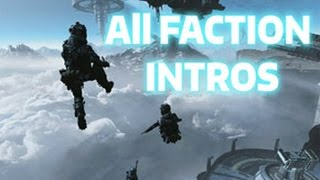 TITANFALL 2 - ALL FACTION INTROS