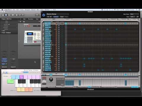 Logic Pro X – Video Tutorial 51 – Ultrabeat (PART 1) Sequencing and Sampling