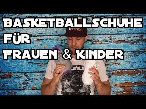 Basketballschuhe für Frauen und Kinder - worauf muss man achten?